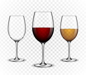 Mockup wine wineglass. vector design.