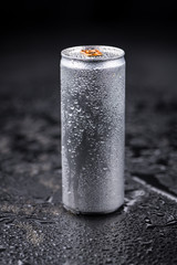 Portion of Energy Drinks