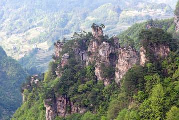 Zhangjiajie National Forest Park in Hunan Province of China