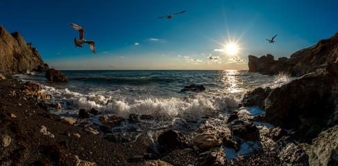 Beauty nature sea andscape Crimea