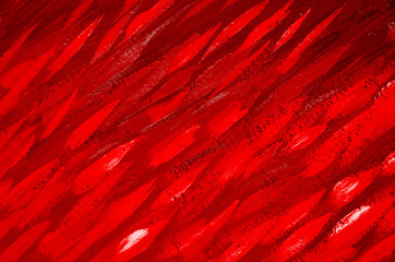 Abstract red watercolor background