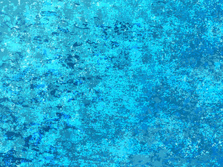 Christmas blue background with grunge texture. Vector