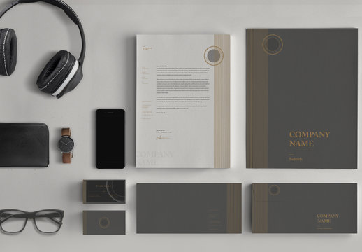 Refined Stationery Set