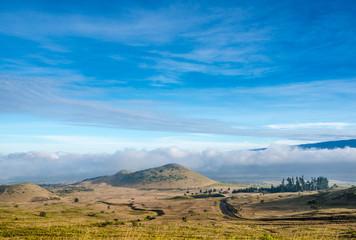 View from the Mauna Kea , Big Island, Hawaii, Usa