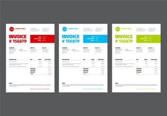 Invoice Layout Set