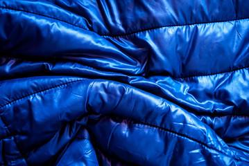 Piumino blu
