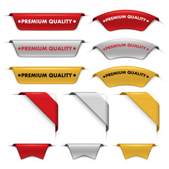 Premium labels stickers and banners