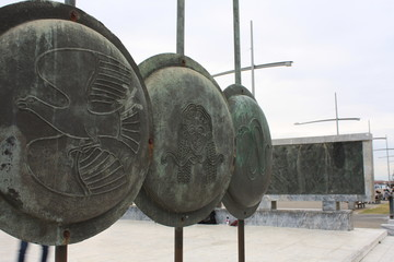 Shield of Alexender the Great in Greece