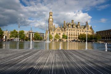 Wooden Deck City Park Bradford