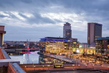 Media city Manchester UK