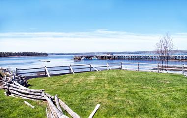 The Fishing Wharf at St Anderws