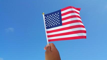 P01014 US USA American flag background