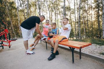 big sports family