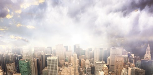 Composite image of new york