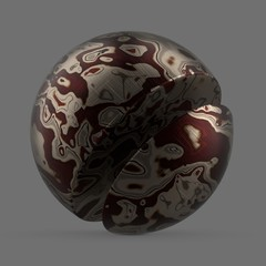 Abstract of burgundy acetate swirl