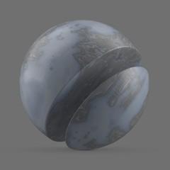 Grey blue acetate