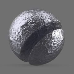 Light aluminum foil