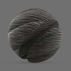 Dark manila rope