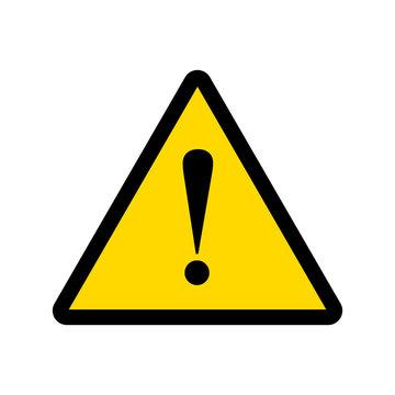 warning sign vector