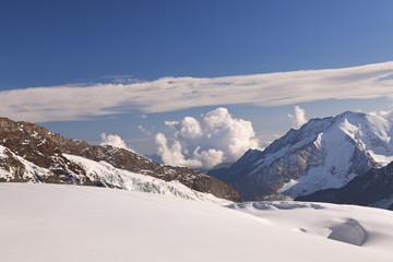 Fototapete - View from Jungfraujoch in Switzerland