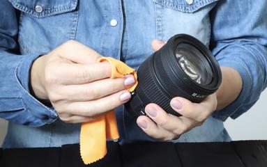 pulire la macchina fotografica