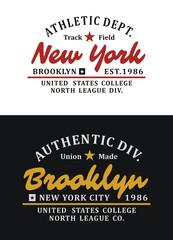 Set Typography Design T-shirt Graphic Vector
