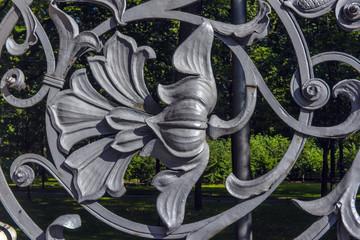part of Mikhailovsky (Michael) garden fence