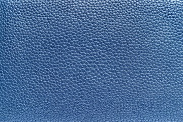 blue texture of leather material