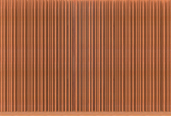 3d rendering. Luxurious brown wood panels wall background