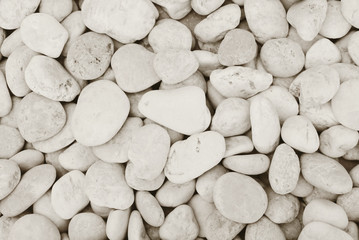 Natural white stone pattern for background. Stone gravel texture.