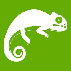 Chameleon icon green