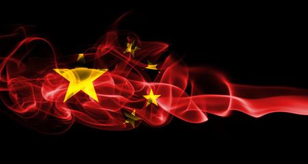 China national smoke flag