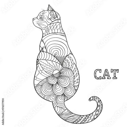 The Top Mandala Ornekleri Kedi
