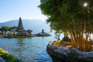 Pura Ulun Danu Bratar - water temple on Bali, Indonesia.