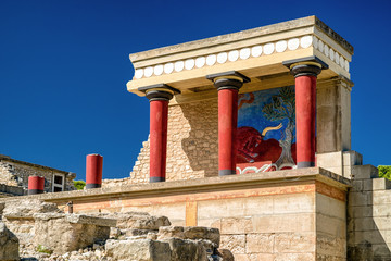 Knossos palace, Crete - Greece