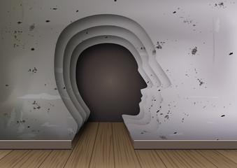 psychologie - tête - cerveau - psychologue - santé mentale - dépression - maladie mentale