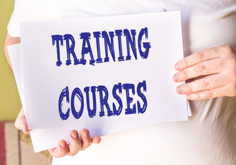 training courses on white paper