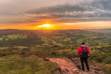 A Sunset in the Peaks