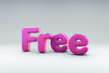 3D word Free