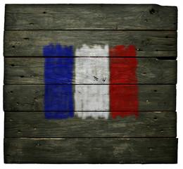 Wall Mural - französische flagge