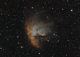 Pacman Nebula or also called NGC 281.