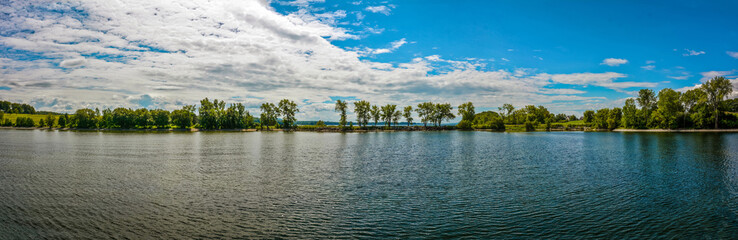 Panoramic Quaker Smith Point