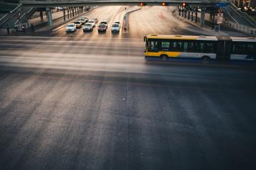 car flow of Beijing
