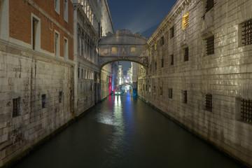 View on Ponte dei Sospiri, Venice