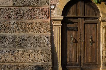 Old door in Verona