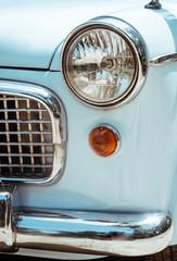 Detail of Blue Car