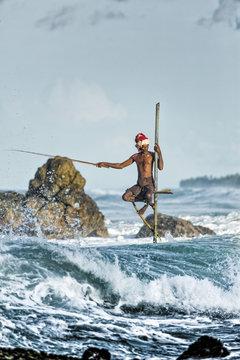 Sri Lanka Stilt Fisher