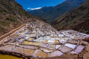 Maras salt mines, Sacred Valley, Peru