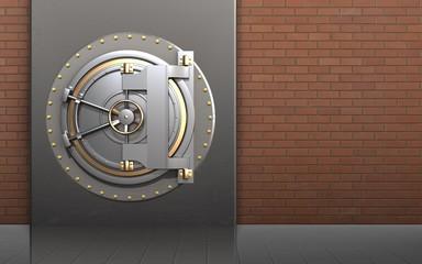 3d bank door bank door