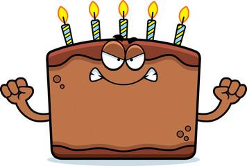 Angry Cartoon Birthday Cake